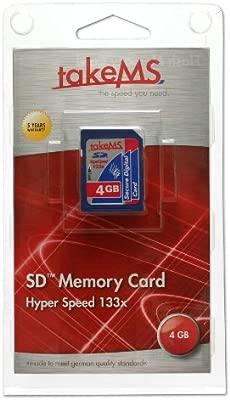 TakeMS 133 - Tarjeta de Memoria SD de 4 GB