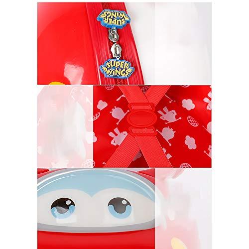 Valise Trolley pour Enfants Cartoon Enfants Valise Valise Valise Trolley Enfants Rouge