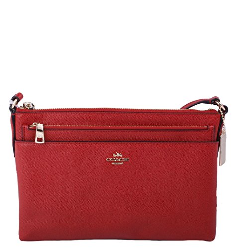 Coach Embossed Textured Leather Swingpack
