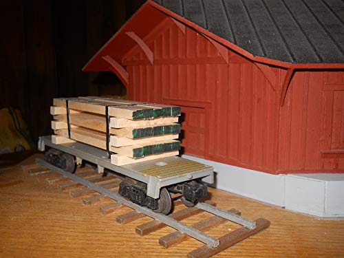 (O Scale Lumber Load)