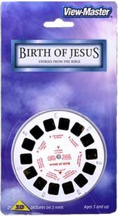 Birth of Jesus - Stories from the Bible - ViewMaster 3 Reel Set in 3D by View Master