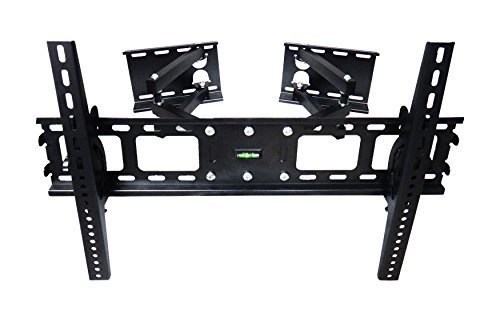 "Impact Mounts Corner TV Wall Mount for Plasma, LCD, LED TVs 37 -63"" (37 40 42 46 47 50 55 60 63) Full Motion Articulate Articulating Tilts Swivels"