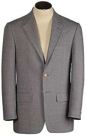 a17017a6a1 Hardwick Atticus Cambridge Grey Wrinkle Resistant Hopsack Blazer 54 ...