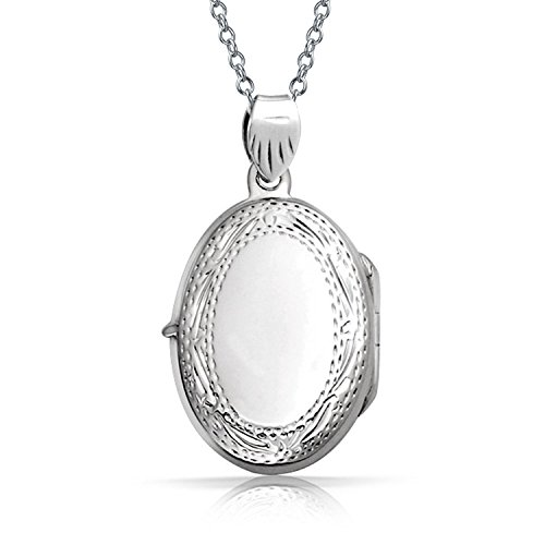 Bling Jewelry Vintage Engraved Sterling