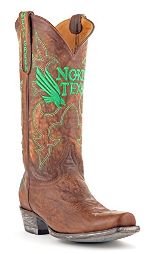 Style Men's North Texas Board Green Brass M US Mean D Room NCAA Boots Brass 11 1xI0wdXI