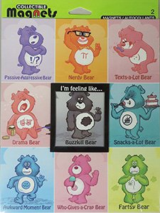 Care Bear Collectible Mood Magnets