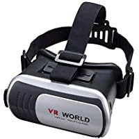 Mobile Phones 3D VR World Box Virtual Reality Glass Focal Distance Adjustable BG