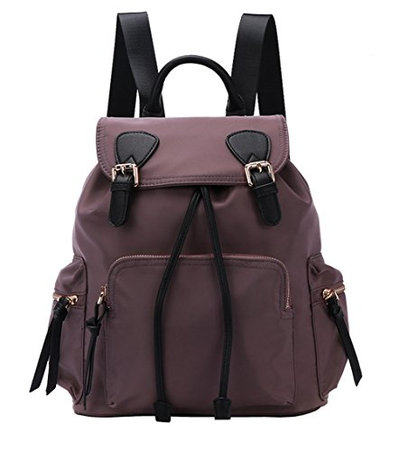 Woman Backpack, Waterproof Nylon Backpack Hopeeye Woman Purple Bag Shoulder Bag 13-type Hand Bags Casual Travel Bag