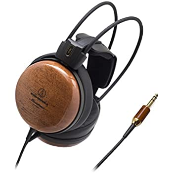 Audio-Technica ATH-W1000Z Audiophile Closed-Back Dynamic Wooden  High-Resolution Audio Headphones 6130ad5028