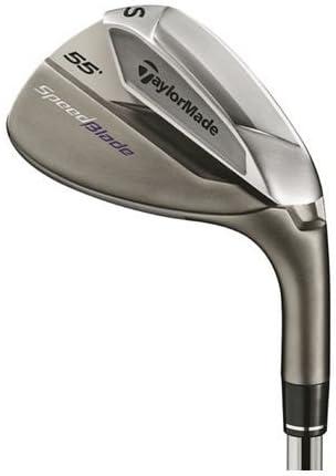 TaylorMade Men s SpeedBlade Golf Iron, Right Hand, Steel, Stiff, SW