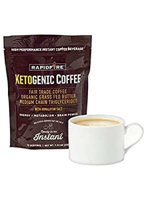 Ketognic Instant Coffee from RapidFire