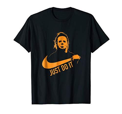 Do It Horror Movie T-shirt Halloween -