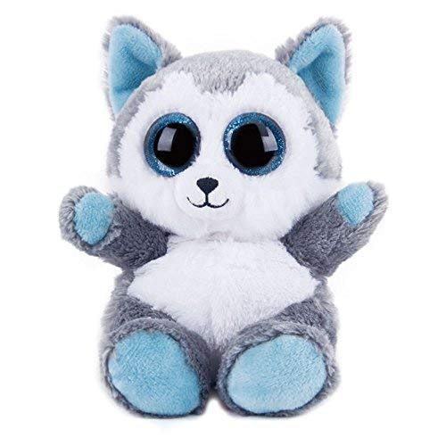 Cloud Store Husky Plush Dog Boo Buddy Slush Dog Birthday Party Gift Present Mobile Phone Holder ()