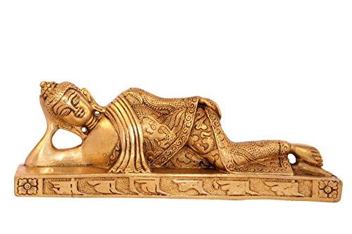 (Statuestudio Bronze Reclining Buddha Home Living)