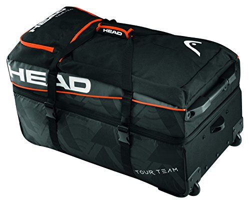 HEAD Tour Team Travel Bag Tasche, Schwarz, 68 x 40 x 20 cm