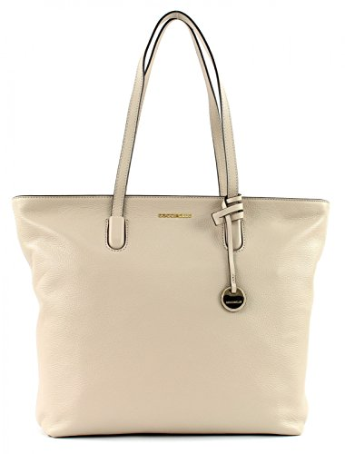COCCINELLE CLEMENTINE SOFT DOUBLE SHOULDER BAG BF8110301 Beige