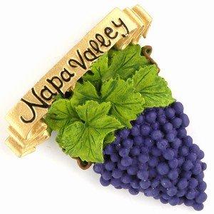 Napa Valley Grapes Poly Magnet 56586