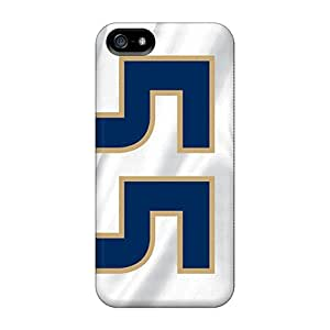 TimeaJoyce Iphone 5/5s Anti-Scratch Hard Phone Cover Allow Personal Design Beautiful St. Louis Rams Pictures [RBn19708SlFW]