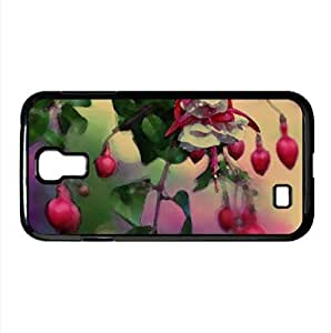 Heart Flowers Watercolor style Cover Samsung Galaxy S4 I9500 Case (Flowers Watercolor style Cover Samsung Galaxy S4 I9500 Case)
