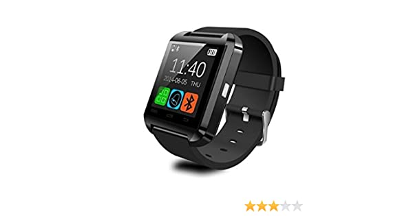 WildWear® U8 Smart Watch / Reloj inteligente U8 / Reloj Bluetooth ...