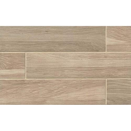 6 Walnut Tile Flooring - Davinci Napa 6 x 24 Tile in Oak