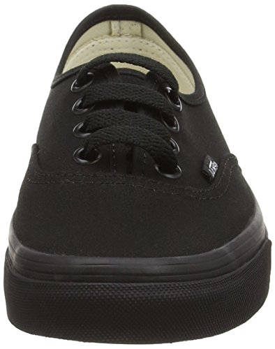 Zapatillas Authentic Black Mujer Black para Vans Negro qxF56wW