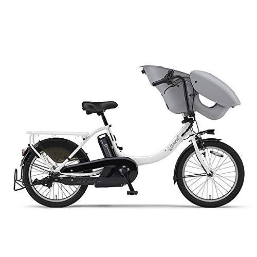 ヤマハ パス 電動アシスト自転車 PAS Kiss mini un ピュアパールホワイト PA20KXL パールホワイト   B07S6J39DX