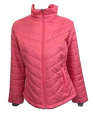 Columbia Womens Morning Light Insulated Omni-Heat Jacket (Medium, Pink (674))