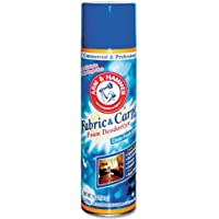Arm & Hammer Fabric and Carpet Foam Deodorizer, Aerosol, 6/Carton
