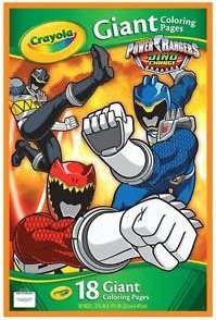(Crayola Power Rangers Giant Coloring Pages)