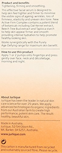 Jurlique Purely Age-Defying Firming and Tightening Serum, 1.0 Ounce