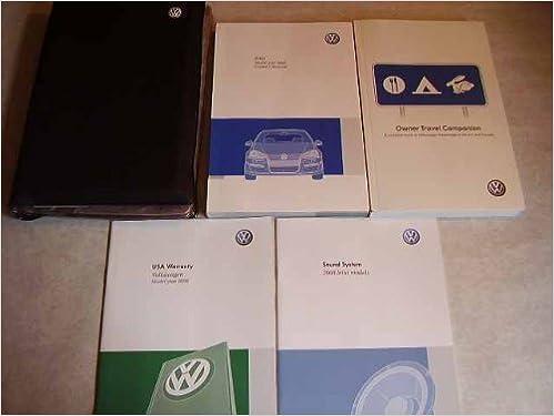 2008 vw jetta car manual