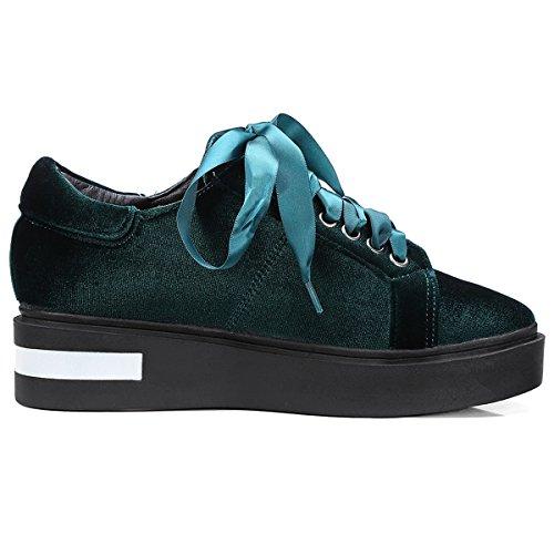 Para a Verde de deporte moda mujer DecoStain Zapatillas la qtnTtYx