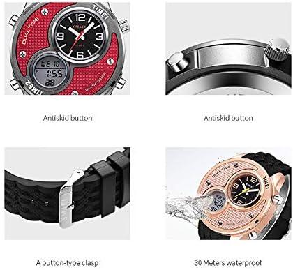 ATAとU- SMAELの腕時計の大きいダイヤルのデジタル屋外の腕時計の電子防水カレンダーの腕時計