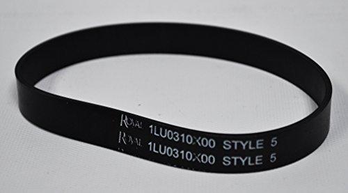 Royal 1LU0310X00 Style 5 Flat Replacement Vacuum Belt (Appliance Royal)