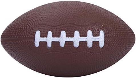VGEBY1 Tamaño 1 Cuero de PU Pelota de Rugby Balón de Grado ...