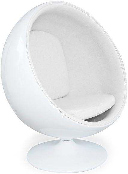 Kardiel Modern Ball Chair - a good cheap living room chair