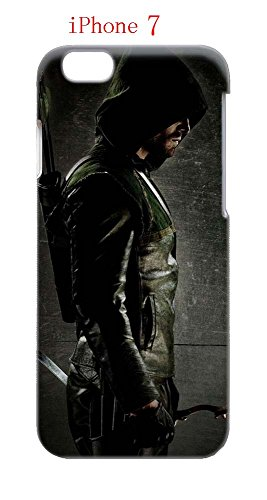 Laurel Lance Arrow Costume (iPhone 7 Case, The TV Series Arrow 38 Drop Protection Never Fade Anti Slip Scratchproof 3D Hard Plastic Case)