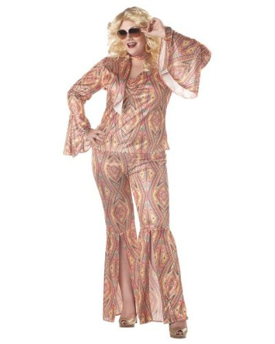 Discolicious Adult Costume - Plus Size 1X