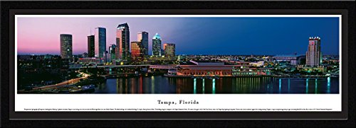 Tampa, Florida - Blakeway Panoramas Skyline Posters with Select - Plaza Tampa