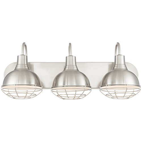 Brushed Bathroom Fixtures Light Nickel (Revel Liberty 24