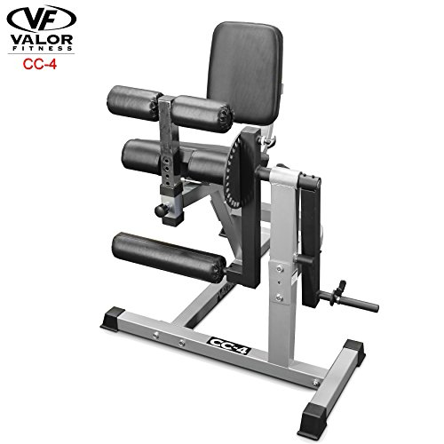 Valor Fitness CC-4 Adjustable Leg Curl Machine
