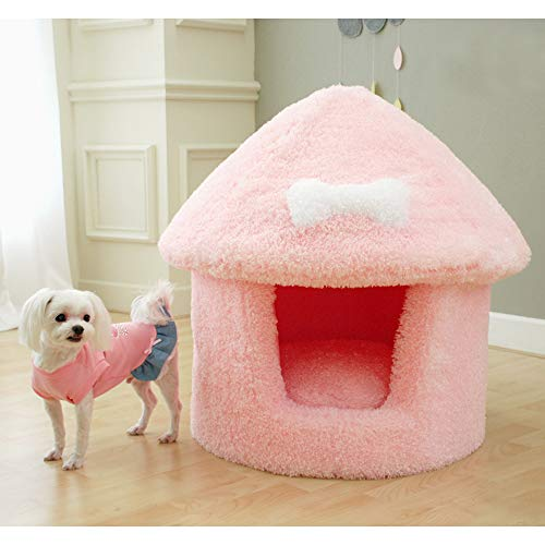 Affetto Mushroom House Large (Pink-XL)