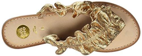 Women's Gold Open Oro Gioseppo 44764 Tree Sandals Oro Toe Lemon R7SqOwv