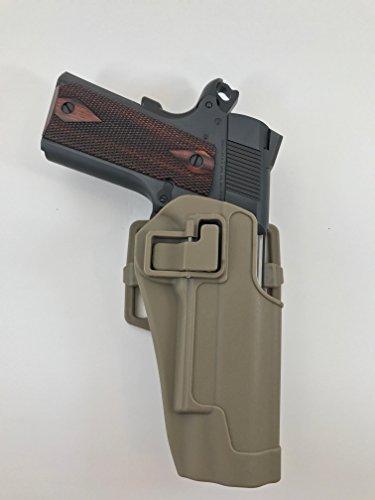Tan 45 caliber 1911 Holster Paddle or Belt Gun Holster fo...