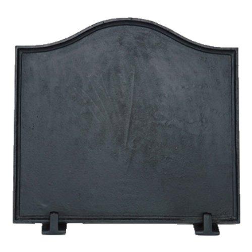 Plain Fireback (Black Cast Iron Plain Fireback - 16 x 17.5)