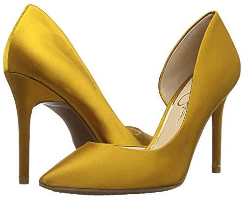 Jessica Simpson Women's Lucina, merigold, 7.5 Medium US (Jessica Simpson Yellow Dress)