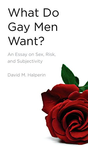 Amazoncom What Do Gay Men Want An Essay On Sex Risk And  An Essay On Sex Risk And Subjectivity