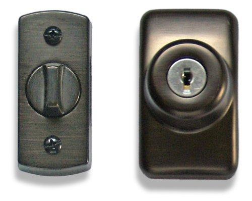 Ideal Security SKGLKORB Storm And Screen Door Keyed Deadbolt, Oil Rubbed Bronze Color: Oil Rubbed Bronze Model: SKGLKORB