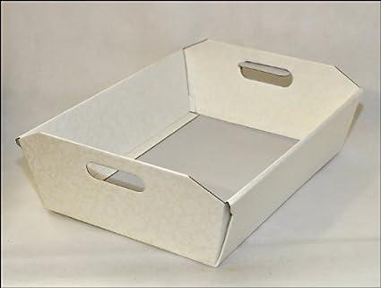 Dos Cestas/Bandejas de Cartón Rígido, 40 X 30 X 12 Cm